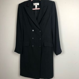 Jones New York black suit career dress size 6